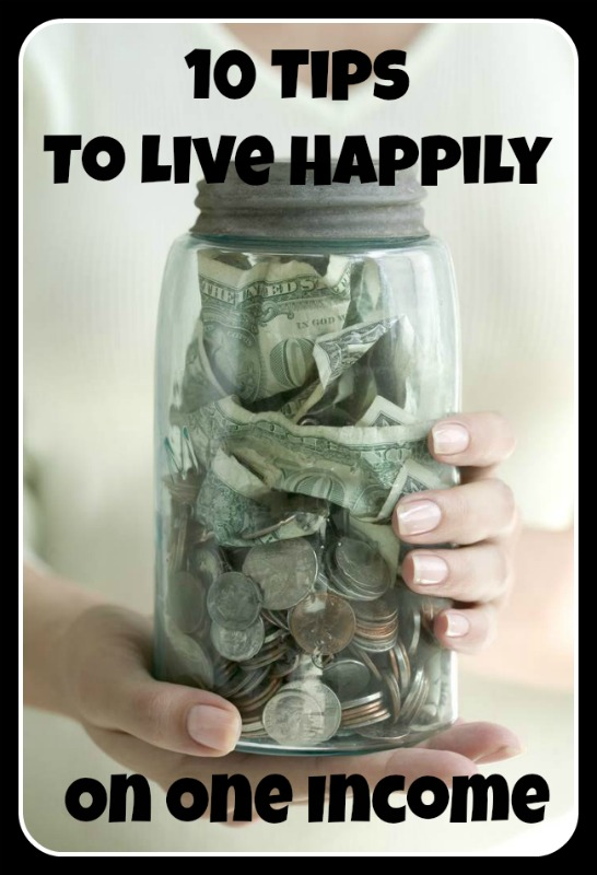 Living on one income can be tricky! I love these frugal money saving tips!