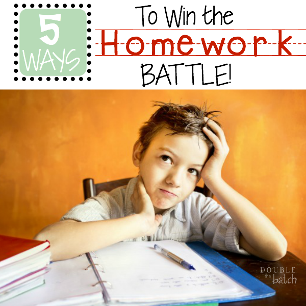Are you  tired of the same battle every night!  Do you feel like your kid is at school all day and then fighting you to do homework all night?