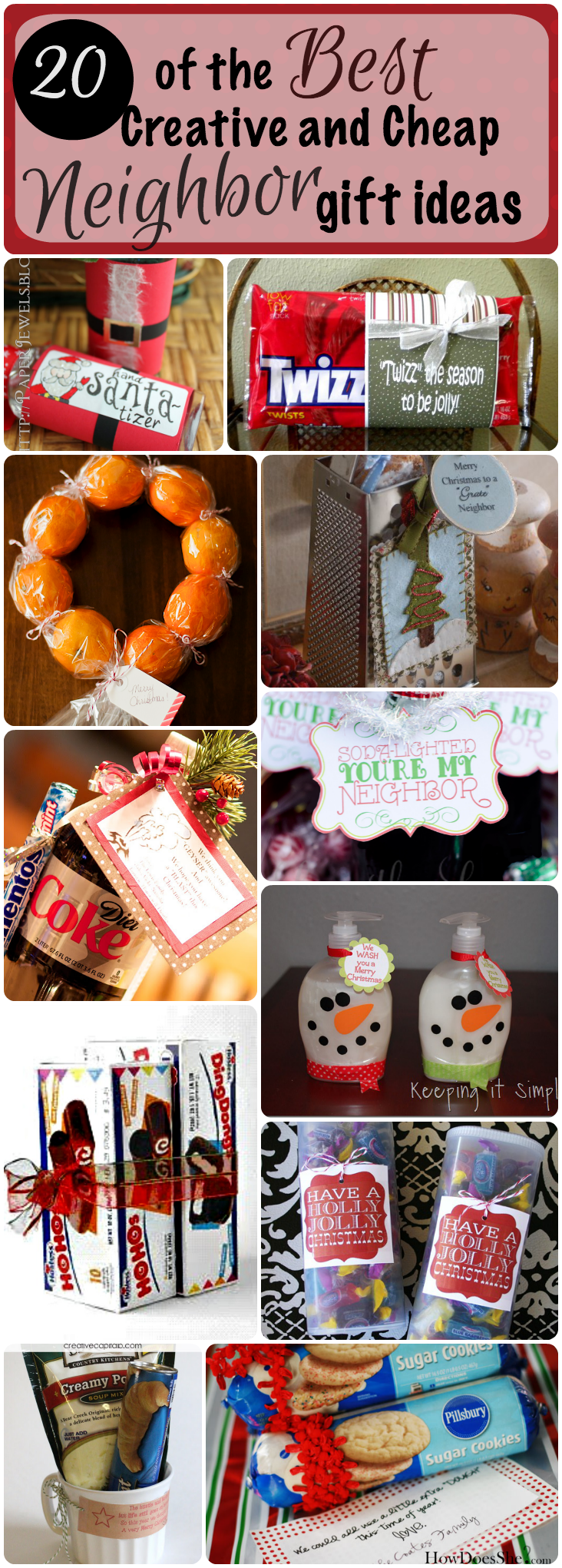 20 best creative and cheap neighbor gifts for christmas