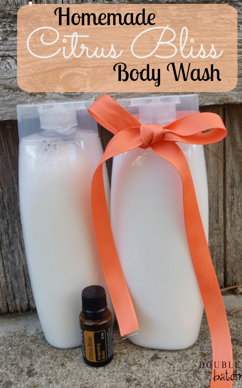 Homemade Citrus Bliss Body Wash