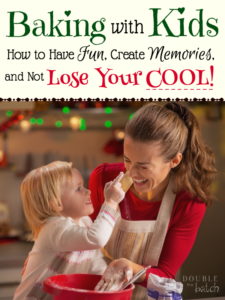 Want to have fun baking with kids, but you're afraid of the messy chaos? Take a deep breath! You can do this!