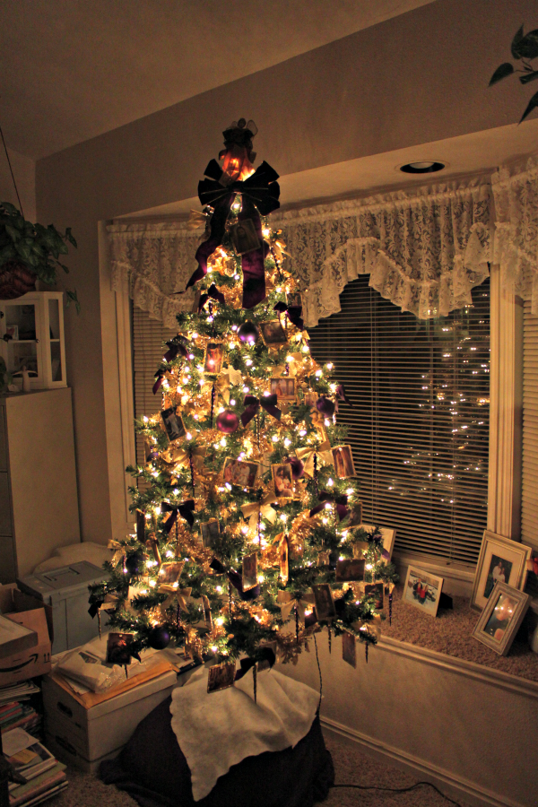 tree with christ centered ornaments