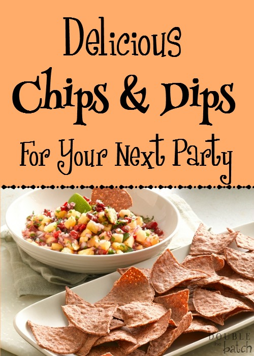 Hosting a get-together and trying to figure out what to serve? Try these healthy chips and delicious dips and wow your guests!