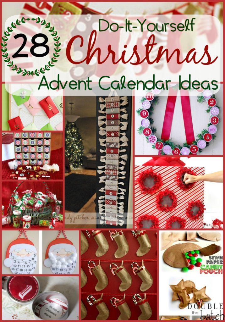 Double Time Kids Calendar : Diy christmas advent calendar ideas