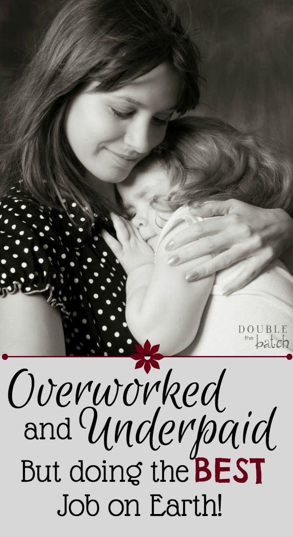 A must read for all the tired overworked and underpaid moms out there! The hand that rocks the cradle rocks the world!