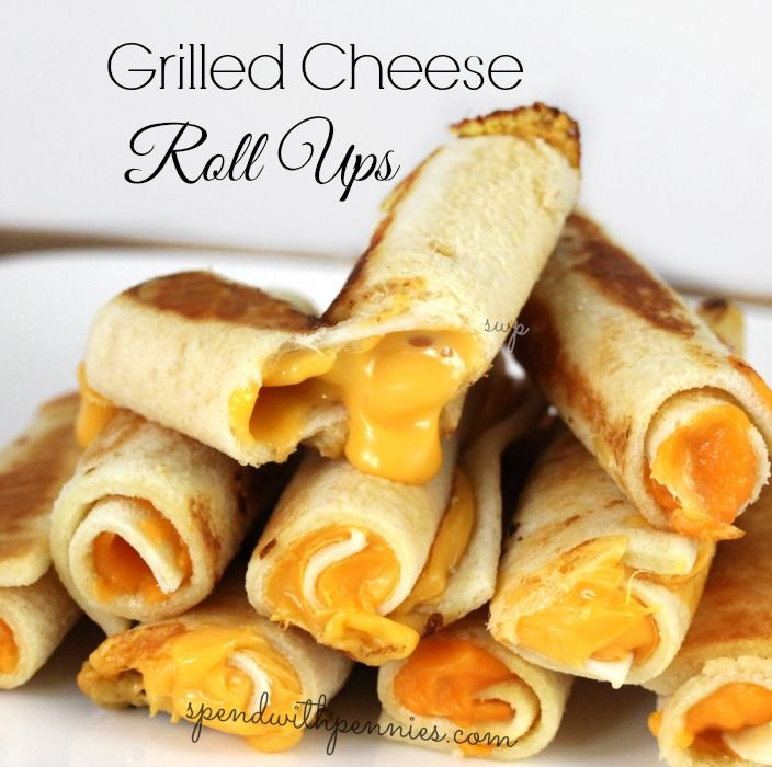 Grilled Cheese Roll ups by Spend