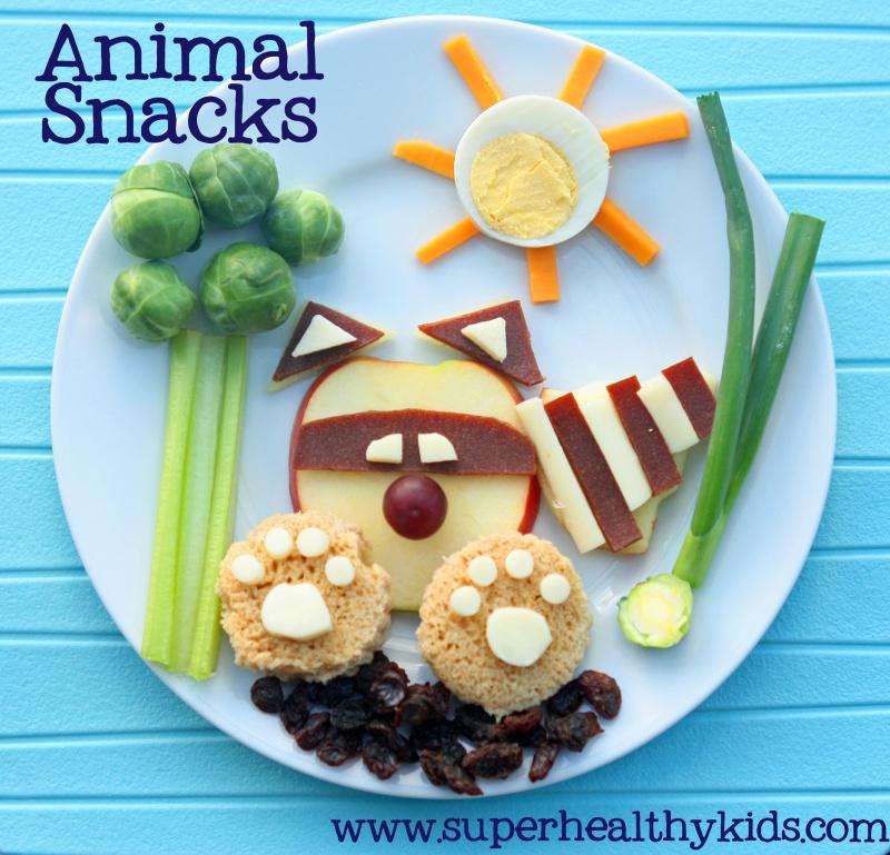Fun After School Snacks by Super Healthy Kids