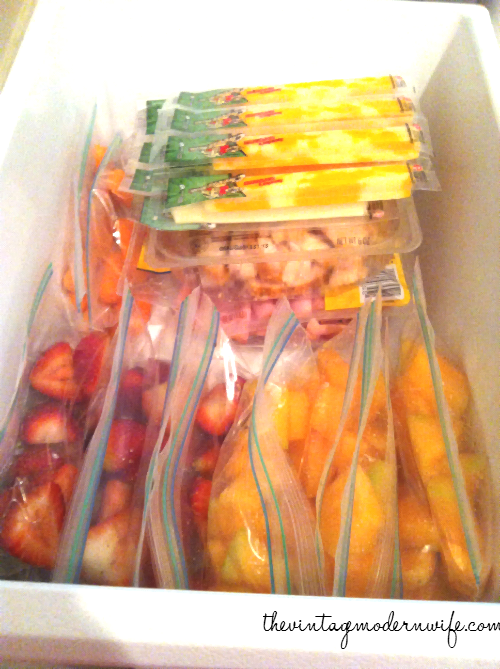 The Healthy Snack Drawer by The Vintage Modern Wife