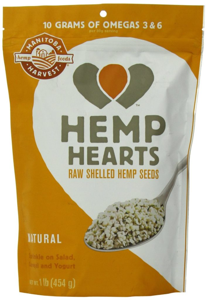 eat hemp hearts!