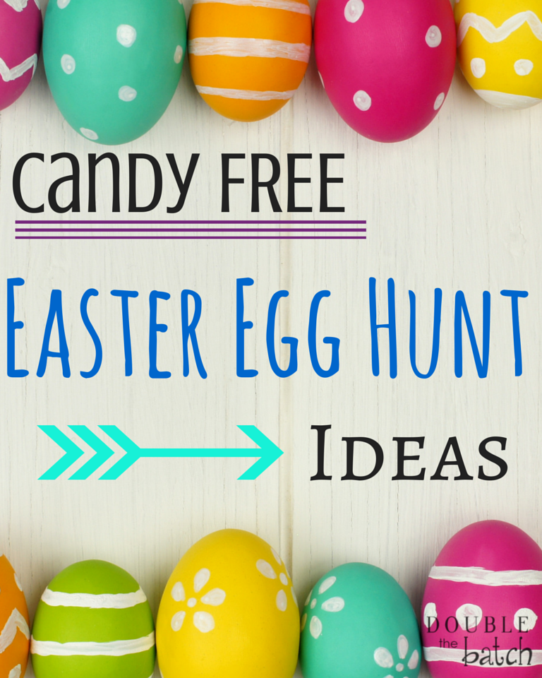 Candy Free Easter Egg Hunt Ideas