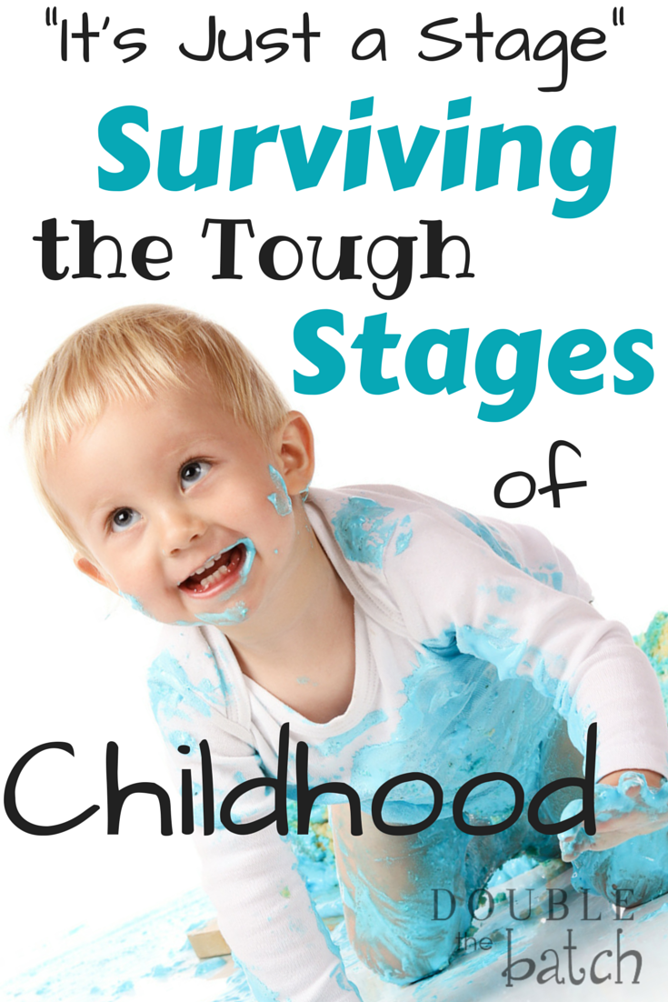 A little perspective to help you survive the tougjh stages of childhood.