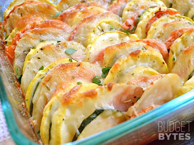 Summer Vegetable Tianby Budget Bytes