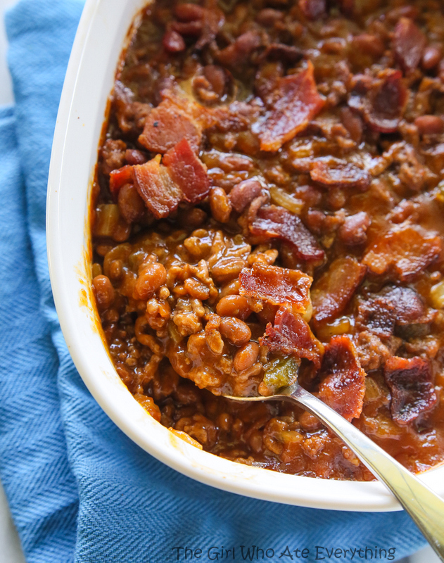 The Best Baked Beans by The Girl Who Ate Everything