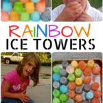 Rainbow Ice Towers