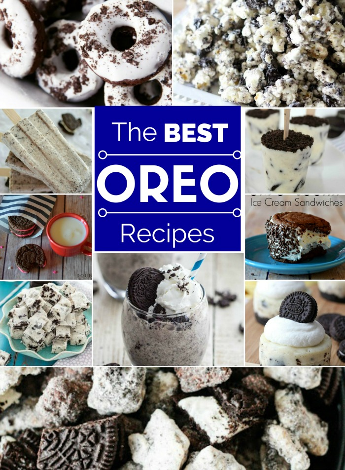 Oreo Recipes for my chocolate cravings. Yessssss!