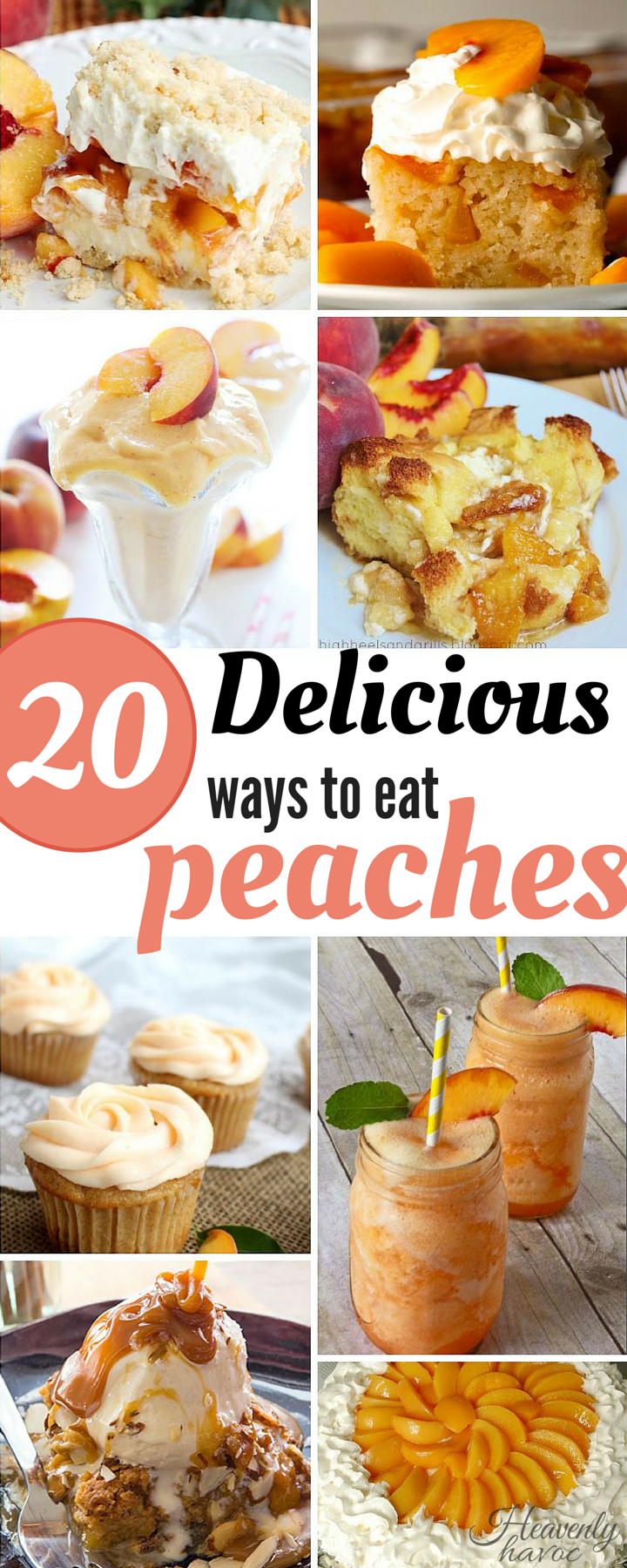 I can't wait to try these delicious peach recipes! #DoubletheBatch