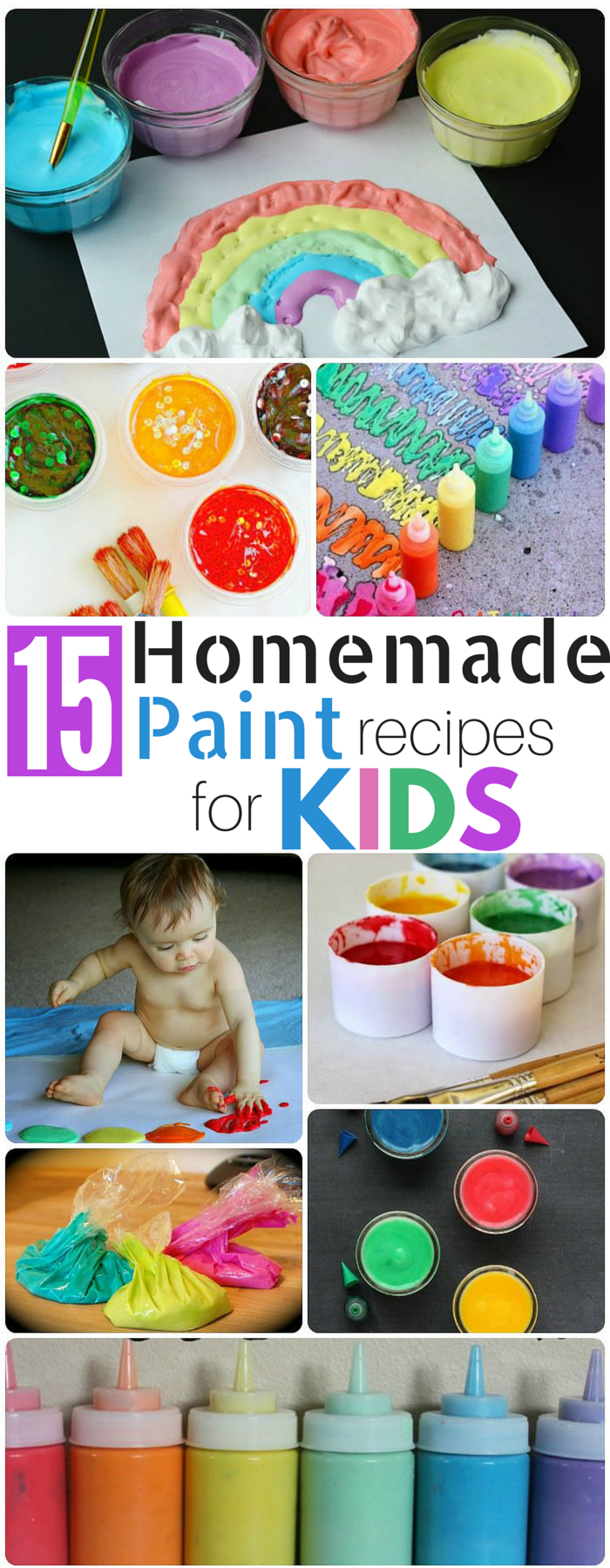 What an incredible round up of homemade paint for kids! Why have I been buying paint all this time??