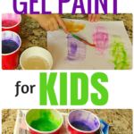 Simple and Easy Gel Paint for Kids