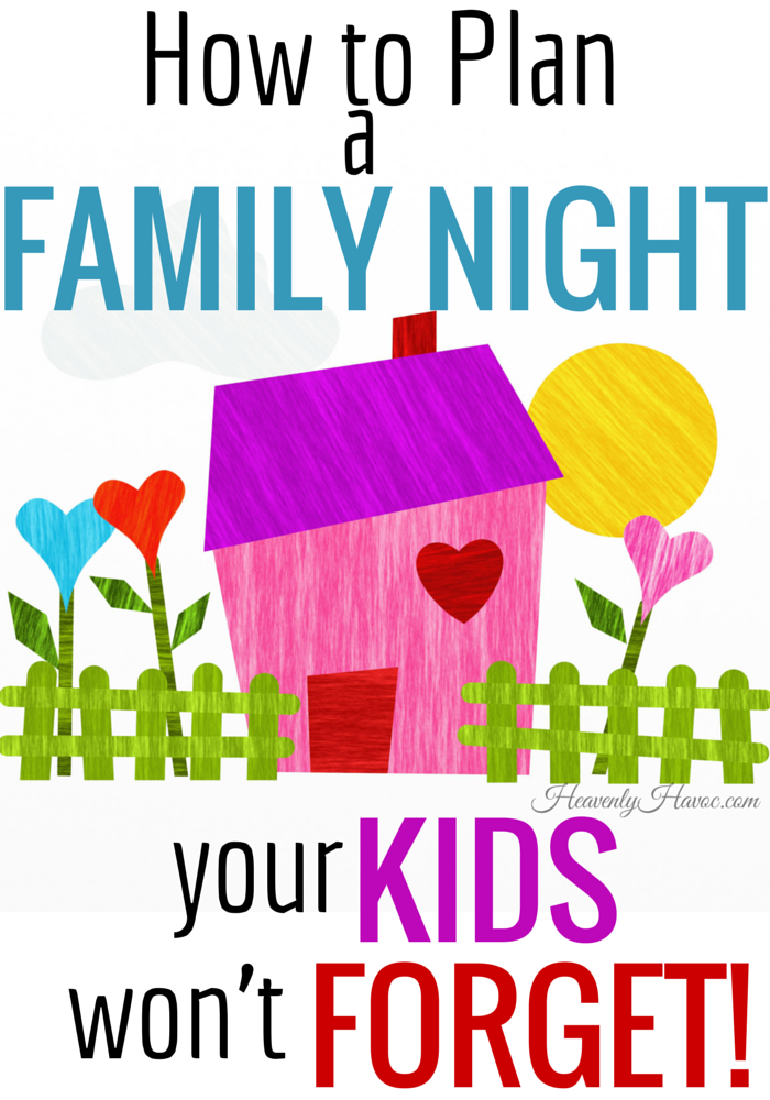 Family night can be a tradition your children will love so much, they'll pass it on to their kids!