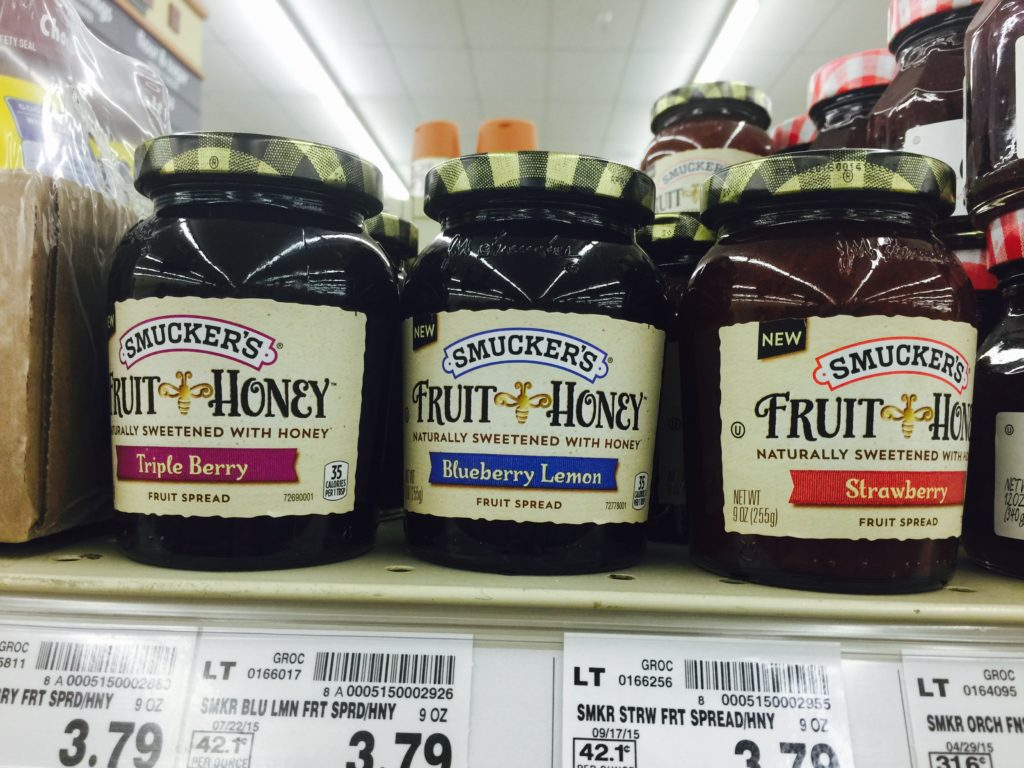 Smuckers Fruit & Honey