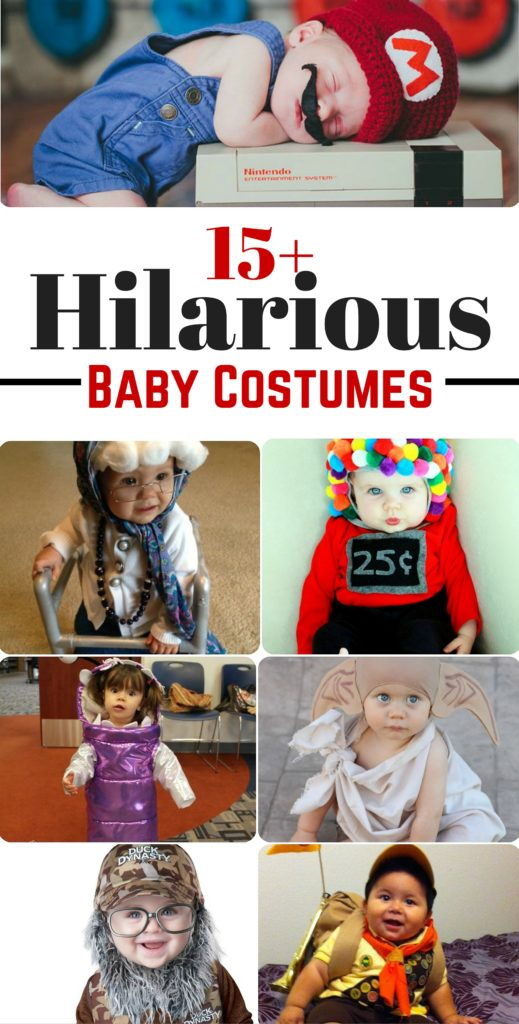 I have to dress my baby up as one of these hilarious baby costumes this year!! Too good! That granny!