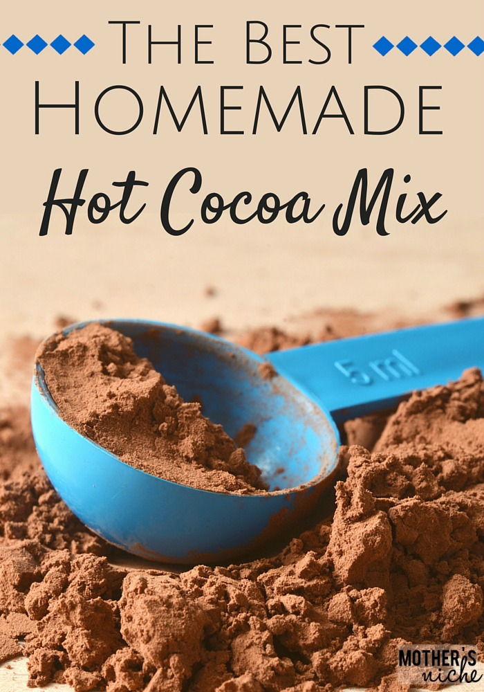 THE BEST Homemade hot Cocoa mix + Other Flavors