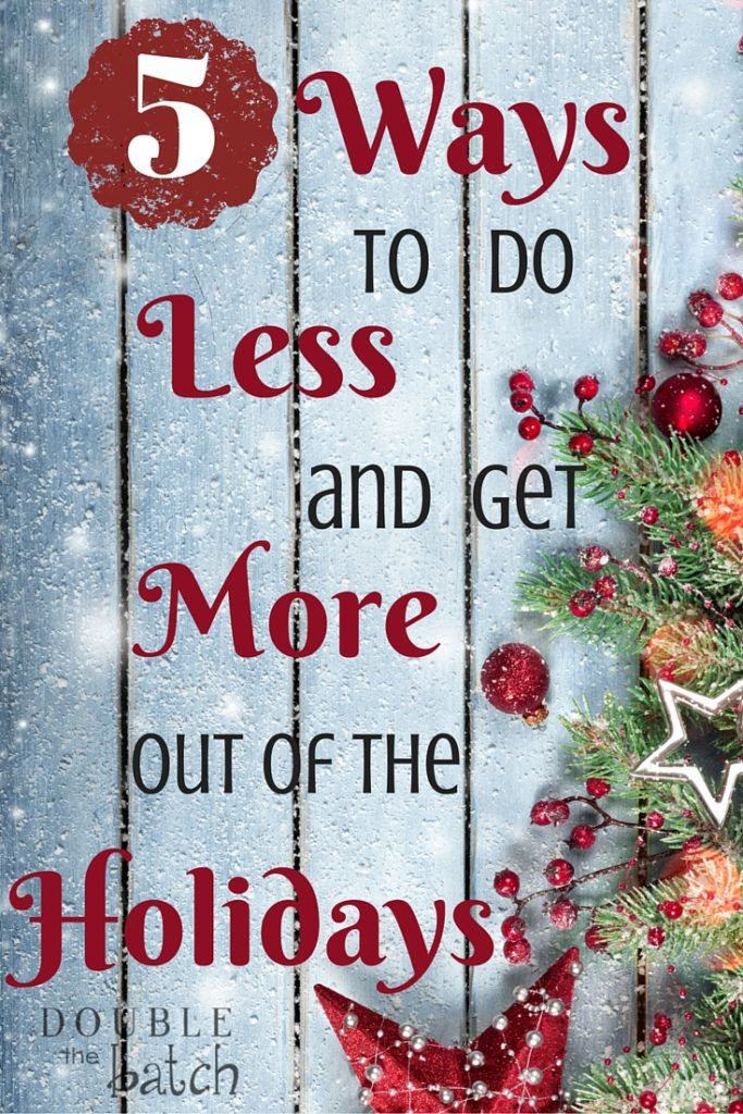 A must read if seeing the Holidays coming has you stressed!