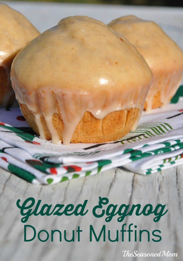 Glazed-Eggnog-Donut-Muffins-718x1024