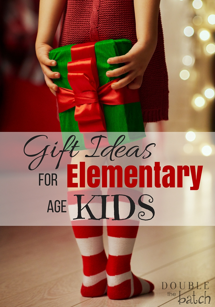What great gift ideas for kids ages 4 and up! I especially love the fort and science kits!