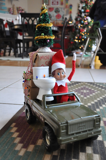 You know you think he's just a little bit creepy people. But here is an even better reason why It's Time to Kick the Elf Off the Shelf.