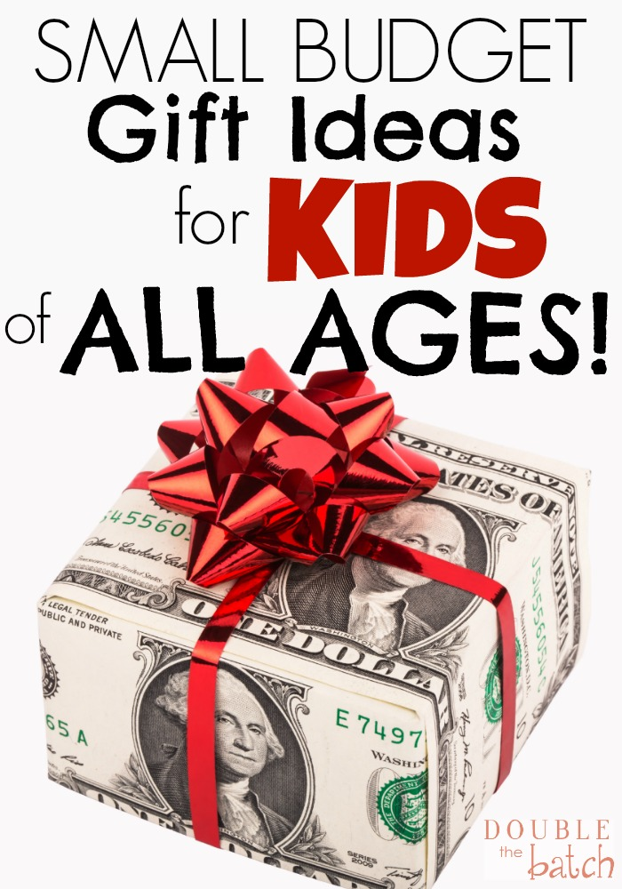 I love these gift ideas! Great QUALITY gifts that my kids will love AND won't break my budget!