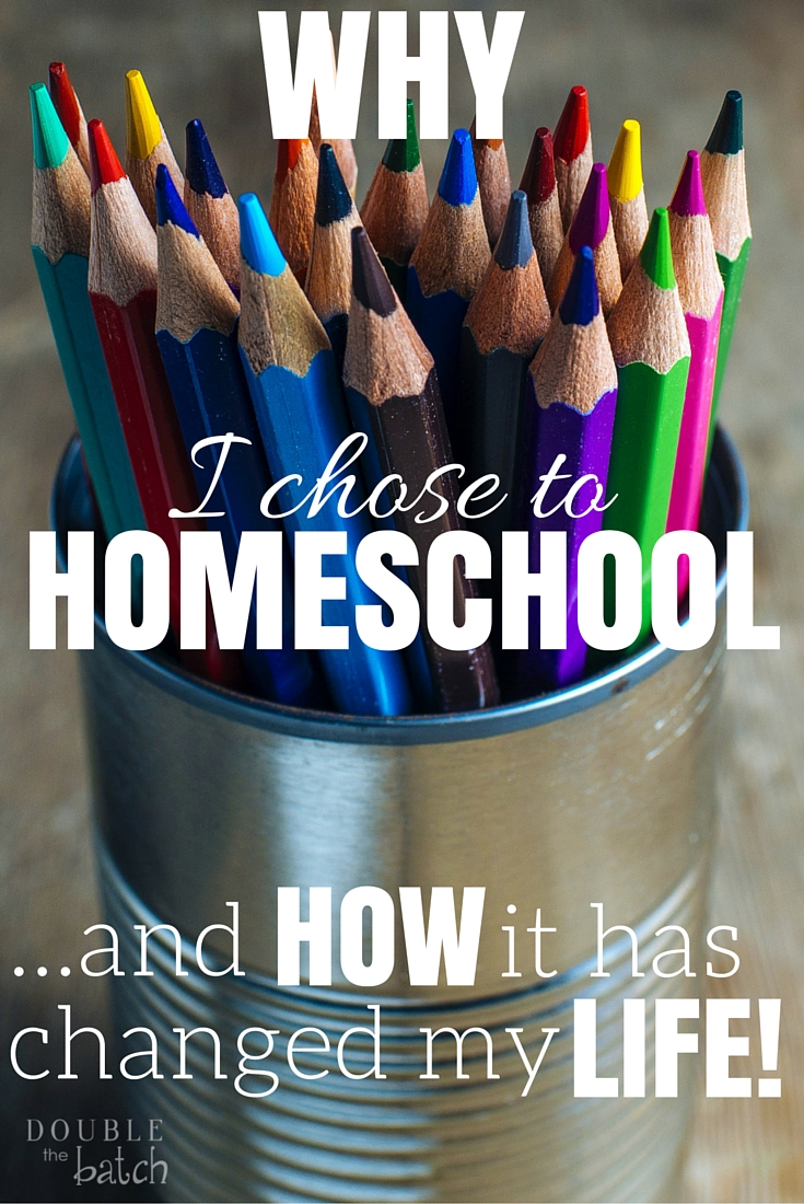 Why homeschool? I never dreamed I would end up homeschooling my children, and I never knew how much it would change my life!