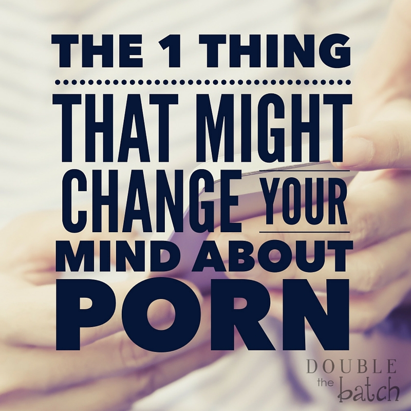 Whether you think pornography is a problem or not, you should read this.