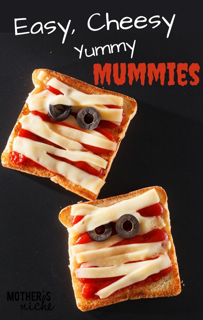 Easy Cheesy Yummy Mummies