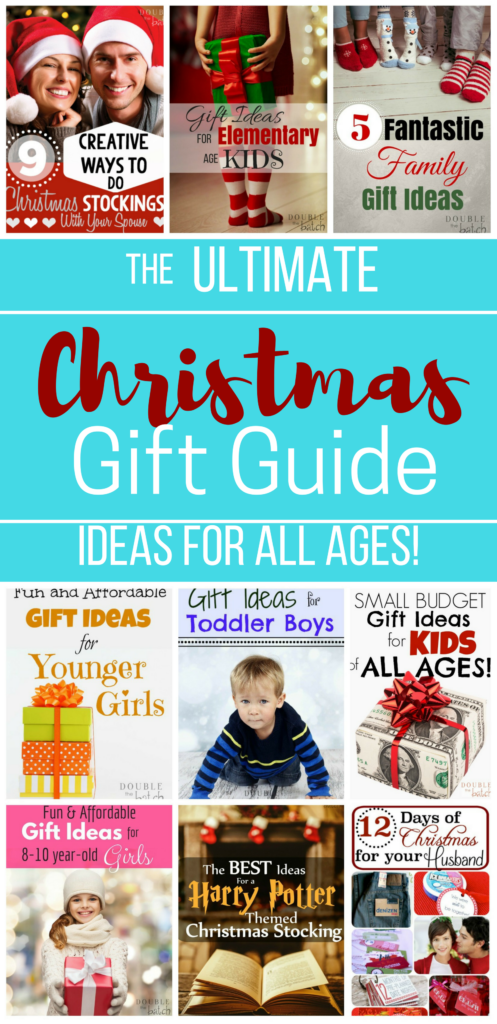The ultimate gift guide for christmas - Ideas for all ages!