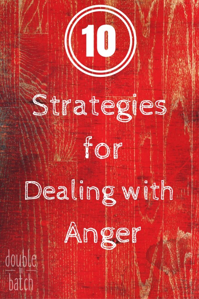 Some sound advice on how to deal with anger from an unexpected source of wisdom.