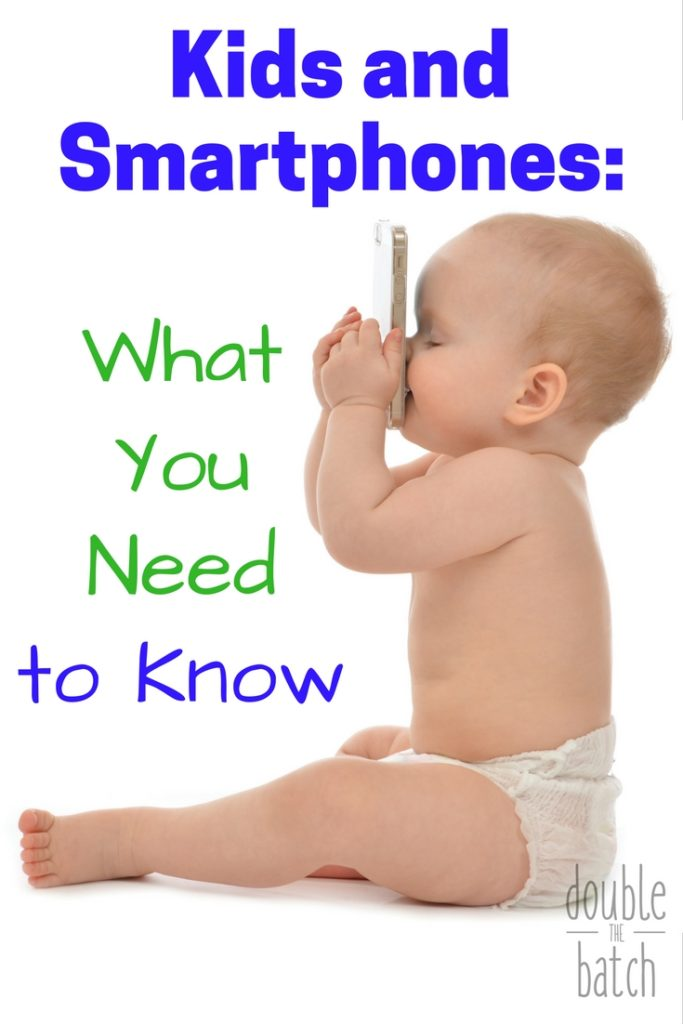 When should you give your kids smartphones: Some excellent advice to help you navigate the world of technology with your kids.