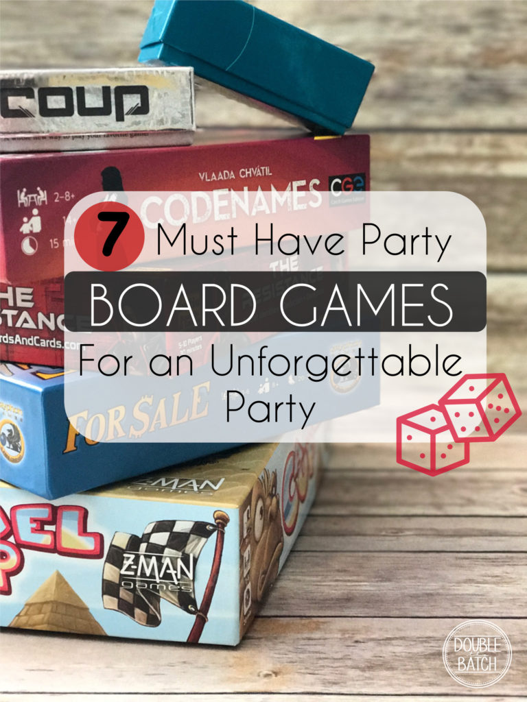 If you're looking for some new and exciting games to change things up a little check out these 7 must have party board games!