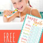 FREE PRINTABLE CHART FOR KID CAVITY FIGHTERS- Making Brushing Teeth FUN!