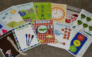 DIY (no sew, easy) Quiet Book FREE PRINTABLE