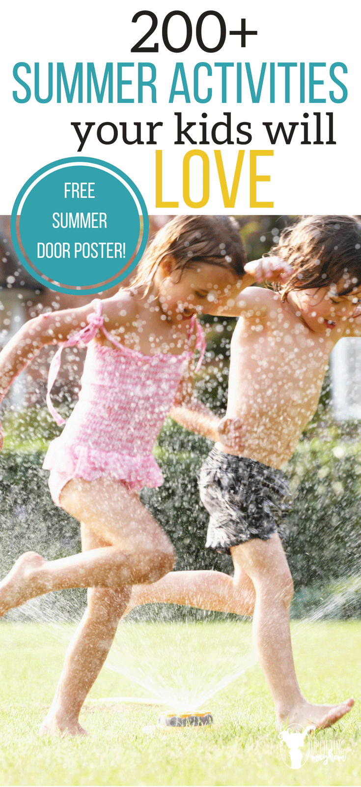 Summer Activities your kids will love! Help break the boredom cycle. When your kids say they are bored, send them to this list of 200+ summer activities