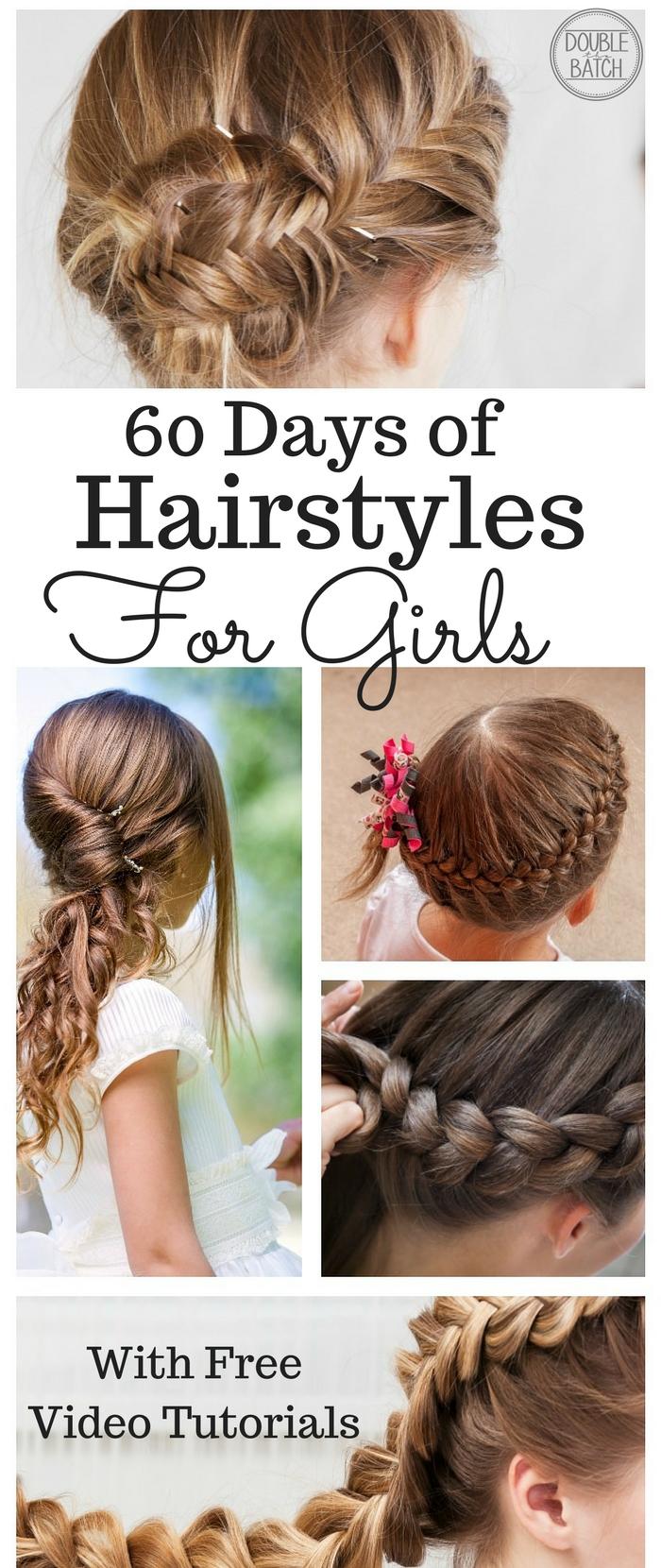Hairstyle Tutorials For Little Girls