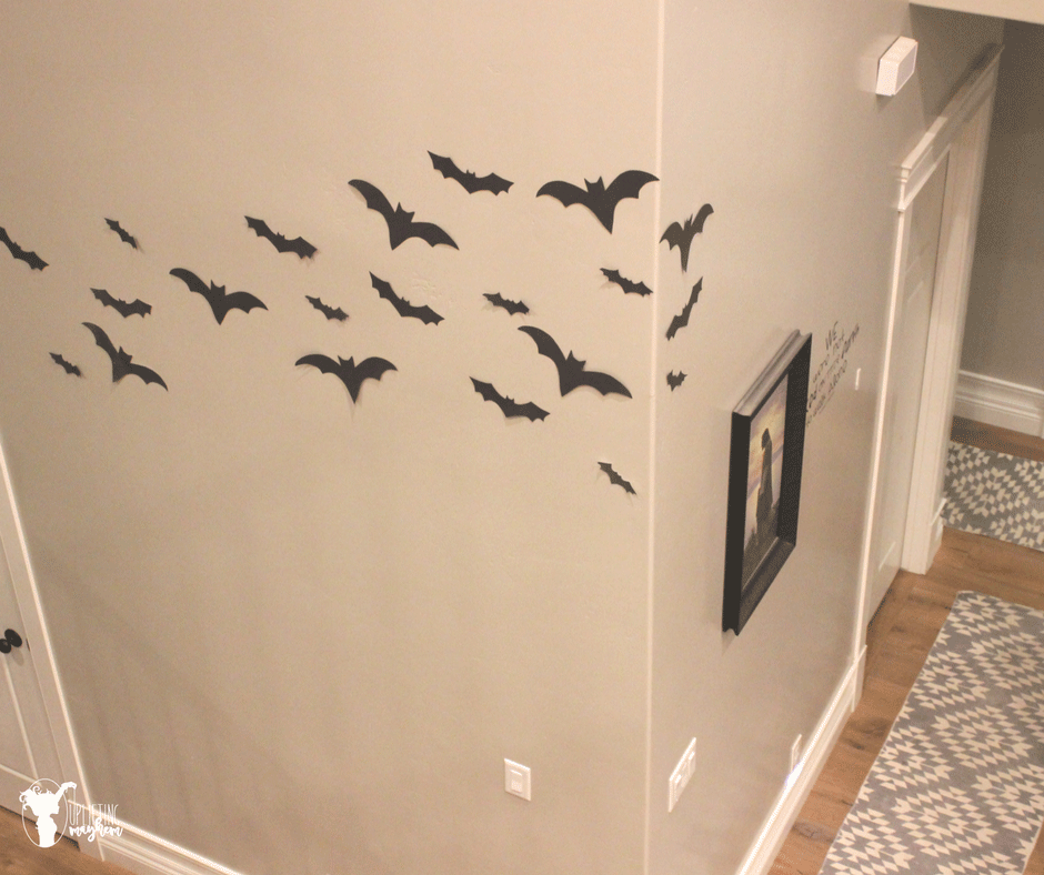 Easy Halloween Bat Decorations You Will LOVE!!