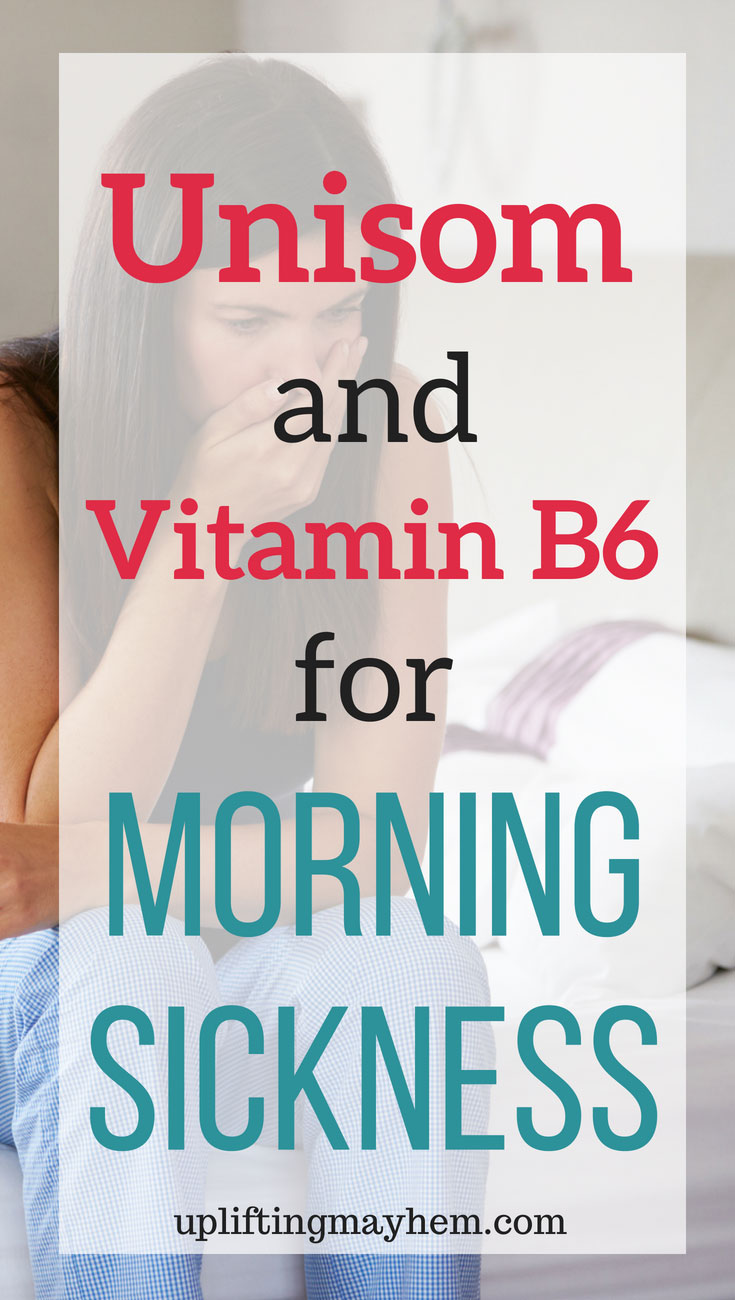 Struggling with morning sickness with no relief! Read about how Unisom and Vitamin B6 have helped women and their morning sickness